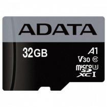 A-Data 32GB microSDHC Premier Pro UHS-I U3 Class 10 (V30S) + adapterrel