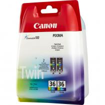 Canon CLI-36 Twin-Pack Color tintapatron